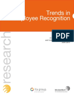 Survey Brief Trends in Employee Recognition 2013