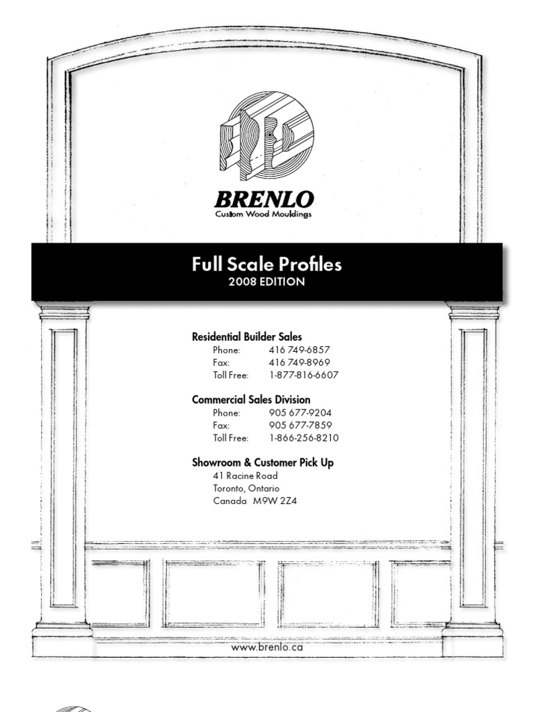 Brenlo Catalog Plywood Toronto