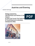Cultural Industries and Evening Economy - Derry/Londonderry