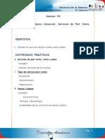 Correspondencia Comercial, Servicios de Post Venta, Ventas a Plazo (1)