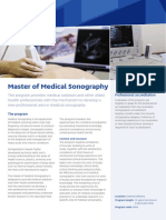 International Master Medical Sonography