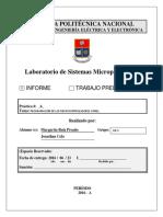 INFORME 4- Utilización de Las Herramientas de Simulación Del PROTEUS Con Los Microcontroladores
