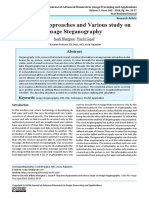 Improved Approaches and Various study on image Steganography