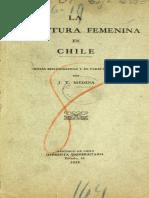 Literatura Mujeres Chile- Medina