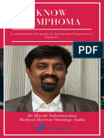 Best Lymphoma Cancer Treatment in Bangalore | Dr. Murali Subramanian, Oncology India