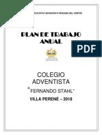 Plan Anual - Social y Deportiva 2018