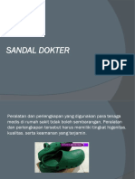Jual Sandal Operasi Untuk Dokter Dan Perawat, 0812.3230.8116