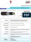 3 8 6 6kV Single Multi Core Cables Flame Retardant to IEC60332
