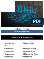 Uniform Costing