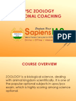 Zoology Optional Coaching