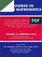 [Derek F. Lawden] a Course in Applied Mathematics,(B-ok.xyz)