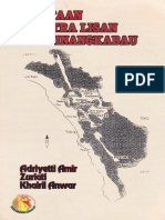 00361. Pemetaan Sastra Lisan Minangkabau. Adriyetti Amir, Dkk. Unand Press Padang. 2006. 218