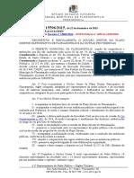 Regulamentação Do Núcleo Gestor de Florianópolis