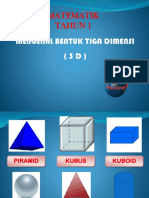 BENTUK 3D THN 1
