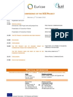 SCE Conference Programme