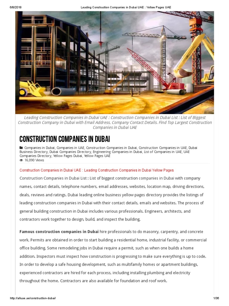 Top construction engineering companies