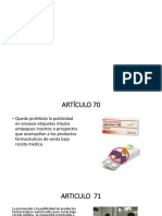 Art 70 75 Medicamentos