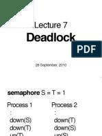 Cs2106 Lec7 Deadlock