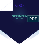 Aion Monetary Policy v1..0