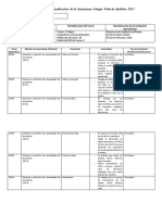 Marcela Planificacion Clase a Clase Ciencias Naturales Abril 3 Basico