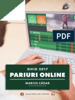 Ghid Pariuri Sportive Online Cadar Marius - 2017