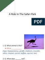 A Ride in the Safari Park
