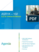 ASR1k 102 Software Architecture