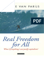 Real Freedom-For-All [What—if-Anything—Can-Justify-Capitalism] by Philippe Van Parijs [1995]