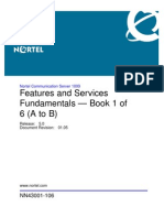 Nortel Features and Services Fundemantals