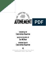 Atonement Script