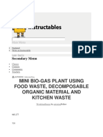 Biogas - Instructables Methane for Biogas