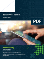EXASOL User Manual 6.0.9 En