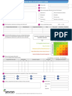 Task Risk Assessment Form