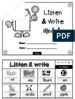 Listen & Write Module (1)