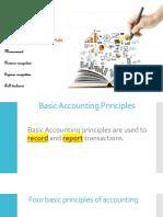 External financial reporting decisions (Basic Accounting Principles)