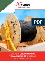 Manual de Uso, Transporte y Almacenamiento 2016
