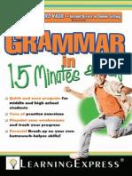 Grammar in 15 Minutes