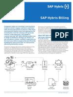 Data Sheet SAP Hybris Billing En