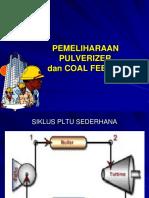 Tayang Pemeliharaan Coal feeder & Pulverizer.ppt