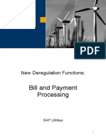 Bill and Payment Processing