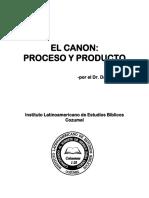 El Canon Proceso y Producto Dan Coker