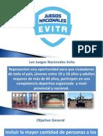 JUEGOS EVITA PRESENTACION