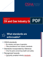 22 Oil Gas Industry Guidelines