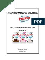 MANIFIESTO AMBIENTAL DE LECHE
