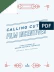 Film Incentives Brief