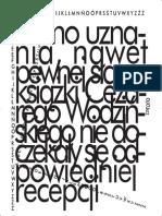 Hortus (In)Conclusus. Rozmowa Antona Marczyńskiego z Mateuszem Falkowskim o Cezarym Wodzińskim