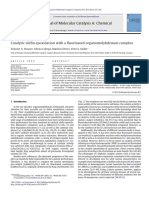 Catalytic Olefin Epoxidation With a Fluorinat 2012 Journal of Molecular Cata