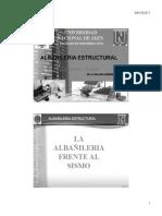 6.0 La Albañilería Frente Al Sismo
