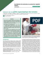 Article Mesure Qualite Tomates