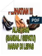 Halas Kaki Mohon Dilepas